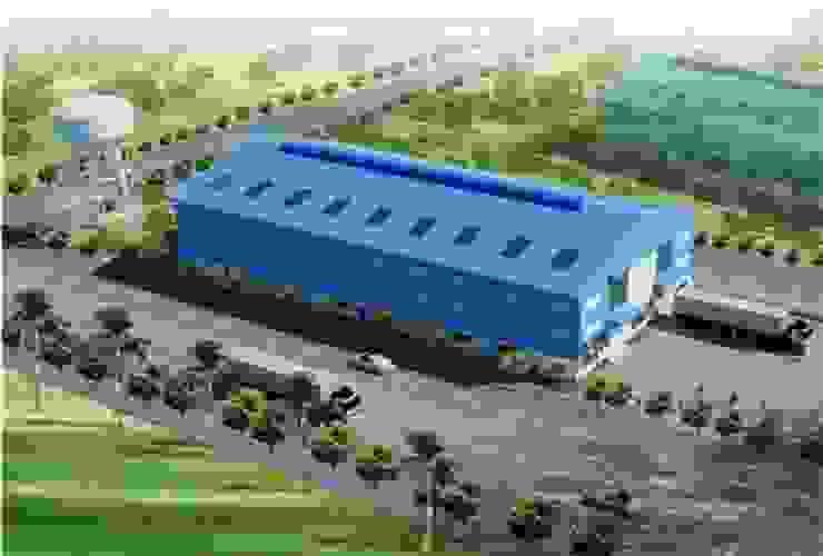 Thiết kế Nhà xưởng công nghiệp WOODPELLET bởi Công Ty TNHH Phát Triển Dự Án Song Nam