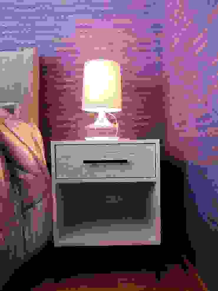 Eclectic style bedroom by Mono Studio Eclectic Wood-Plastic Composite