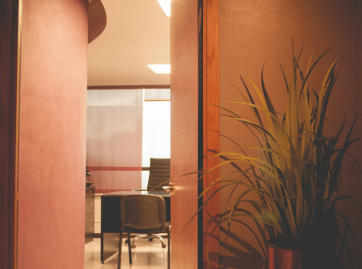 Eclectic style clinics by Mono Studio Eclectic Wood-Plastic Composite