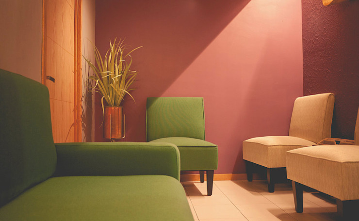 Eclectic style clinics by Mono Studio Eclectic Concrete