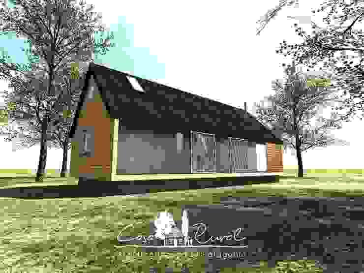Fachada de casa rural - Arquitectos en Coyhaique Rural