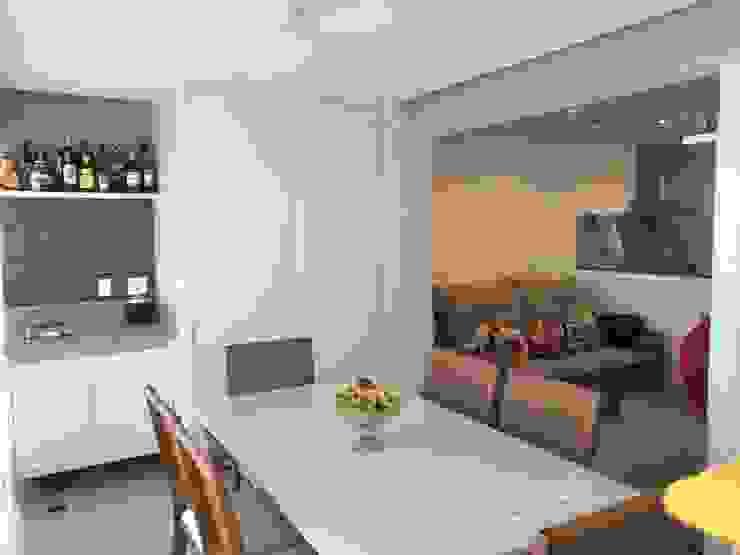 3JP Engenharia Modern Dining Room Ceramic Green