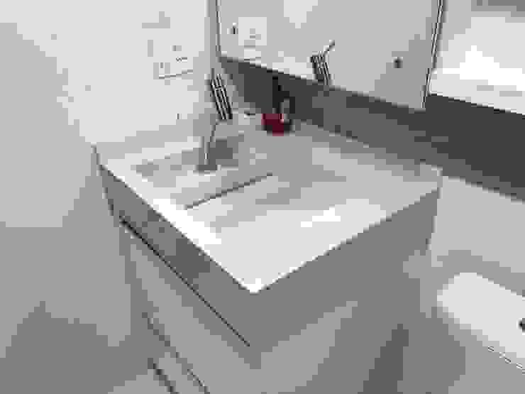 3JP Engenharia Modern Bathroom Ceramic White