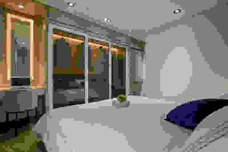 Moderne Schlafzimmer von 在家空間設計 Modern