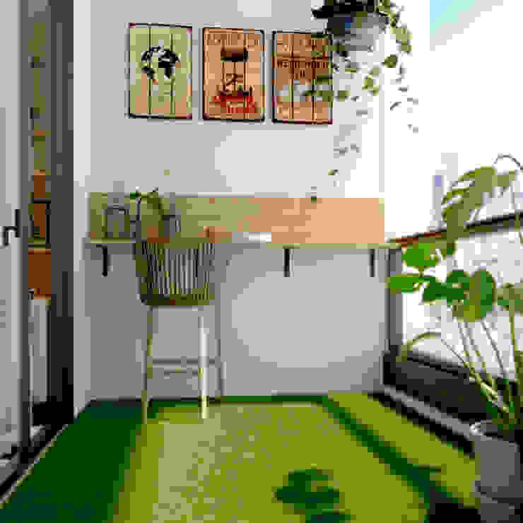 Balcony Norm designhaus Scandinavian style garden