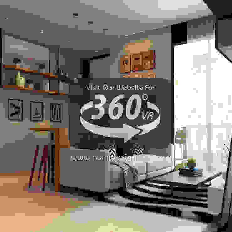 360 VR Tour Norm designhaus Scandinavian style living room
