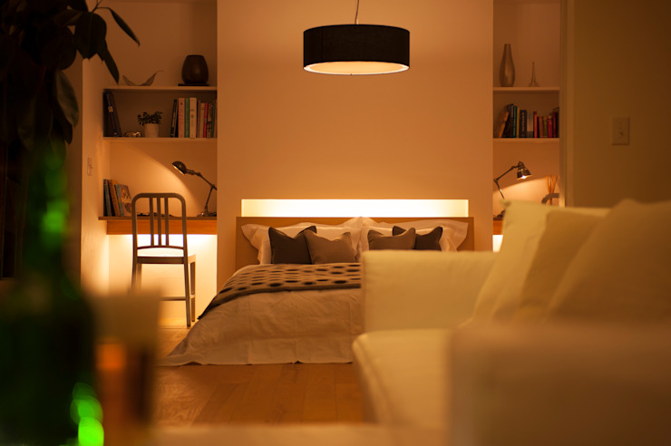 CONCEPT HOUSE yuukistyle 友紀建築工房 モダンスタイルの寝室