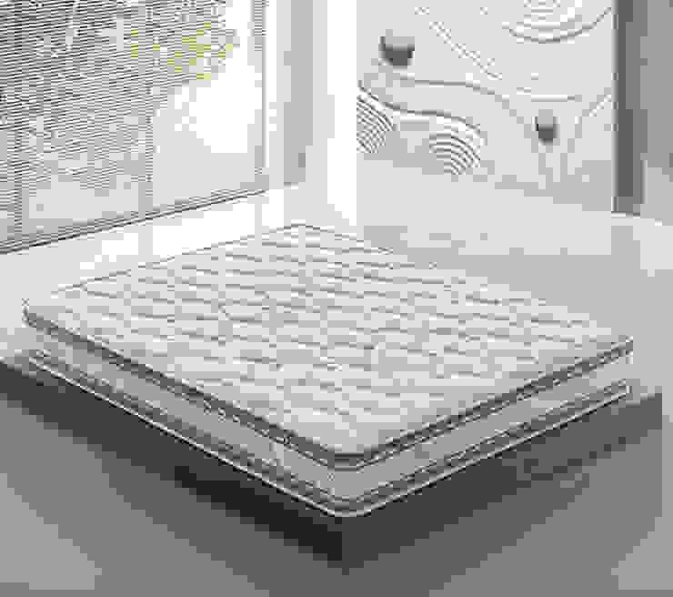 ZEFIRO 現代臥室床墊: 斯堪的納維亞  by 北京恒邦信大国际贸易有限公司, 北歐風