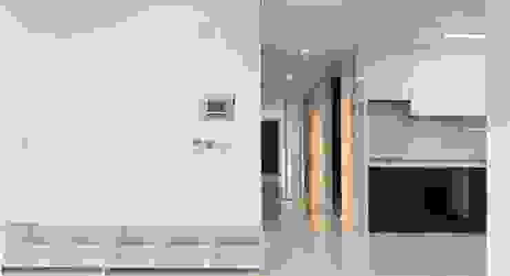 두산 위브더스테이트 45평형 모던스타일 거실 by 디자인모리 모던