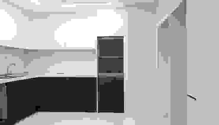 두산 위브더스테이트 45평형 모던스타일 주방 by 디자인모리 모던