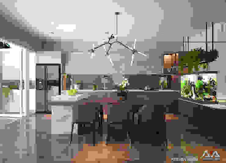 Moderne Küchen von AVA Architects Modern