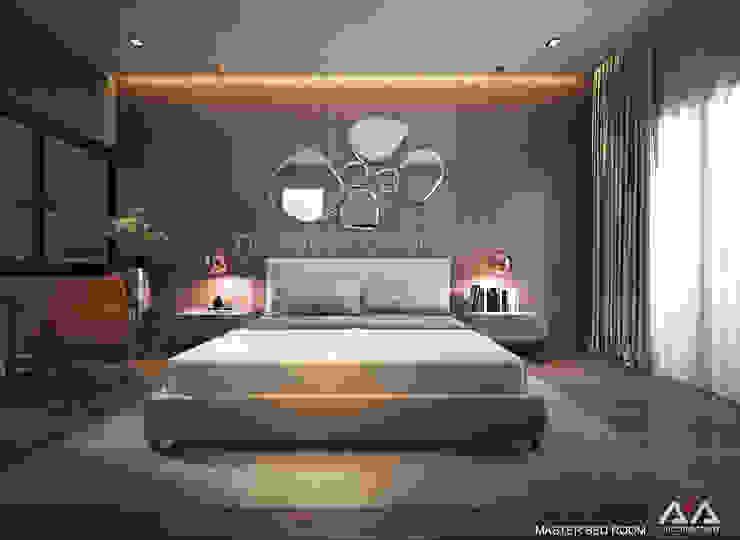 Moderne Schlafzimmer von AVA Architects Modern