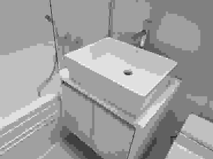 수서삼성아파트 32평 모던스타일 욕실 by 디자인모리 모던