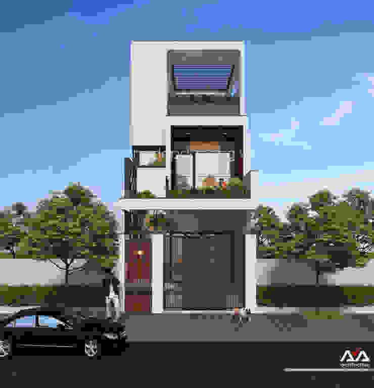 Thiết kế nhà phố đẹp tại Đà Nẵng bởi AVA Architects Hiện đại