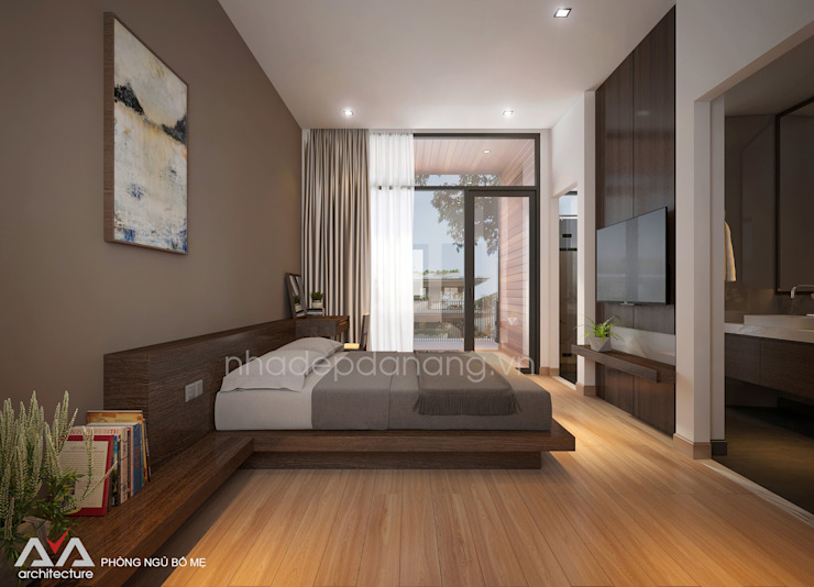 Bedroom by AVA Architecture, Modern