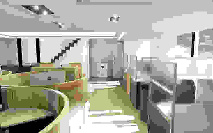 天使國際商務中心 根據 司創仁和匯鉅設計有限公司 隨意取材風
