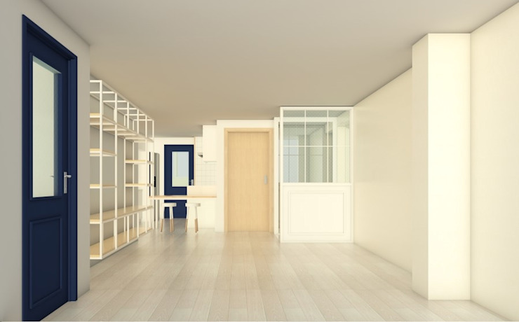 시흥 대야아파트 24평: 디자인모리의 현대 ,모던
