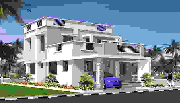 Residential bungalow by THEJASWI