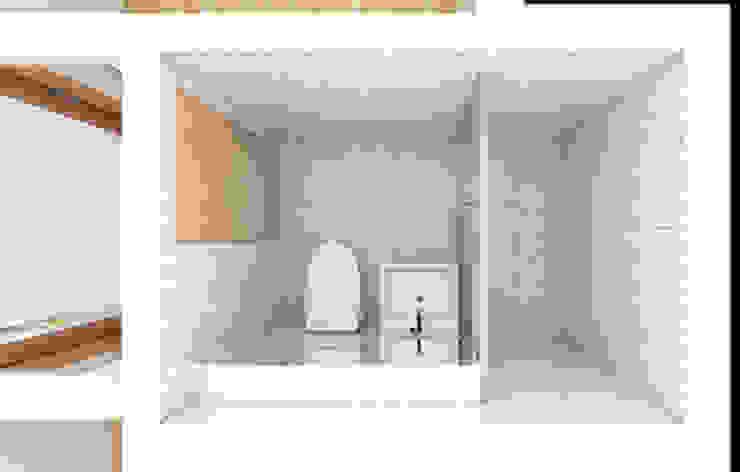40평대 아파트 투시도: 디자인모리의 현대 ,모던