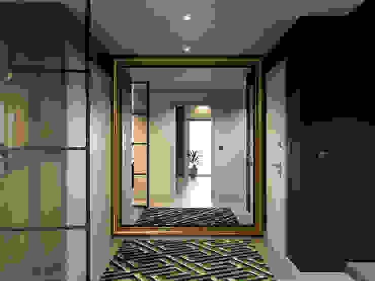 Pang-industriya na corridors estilo, Pasilyo & Hagdan by Inêz Fino Interiors, LDA Industrial