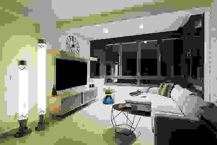 Salon moderne par ETNA STUDIO Moderne
