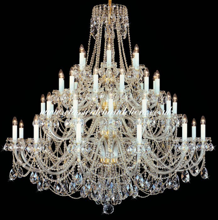 42 Glass Arm BC43050 42/21P-505S Chandelier Classical Chandeliers Living roomLighting Amber/Gold