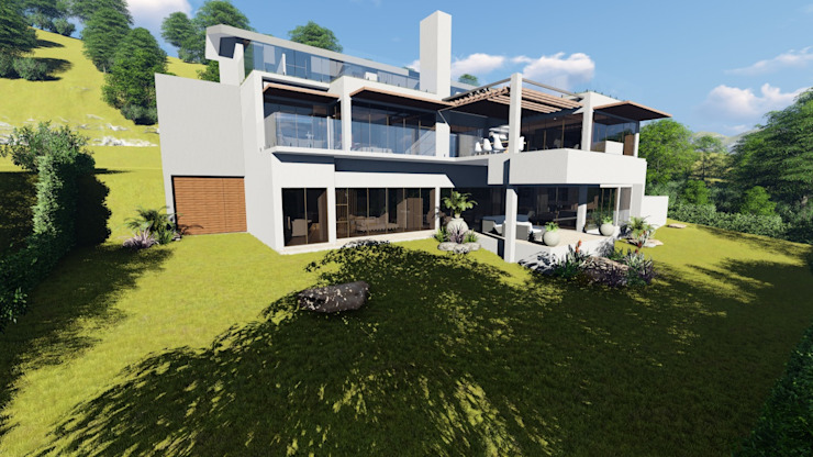 Modern Upmarket Home In Fairhaven Cape Town: modern  by A&L 3D Specialists, Modern