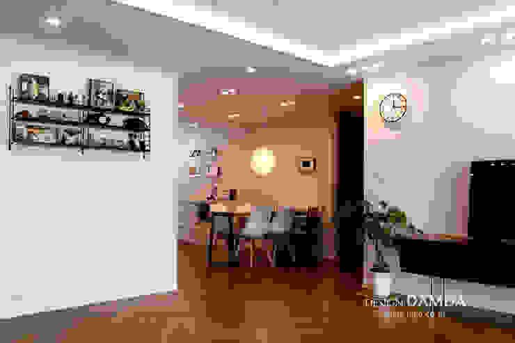 Dining room by 디자인담다, Modern