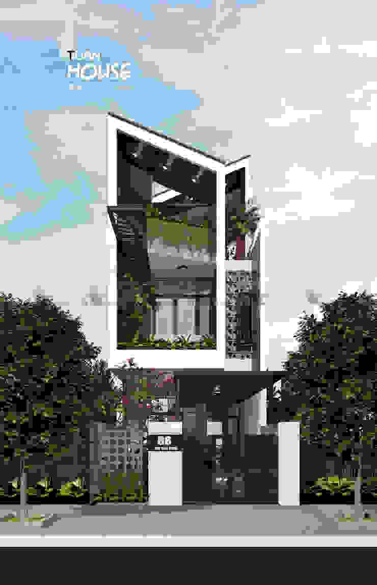 TUẤN HOUSE bởi AE STUDIO DESIGN Hiện đại