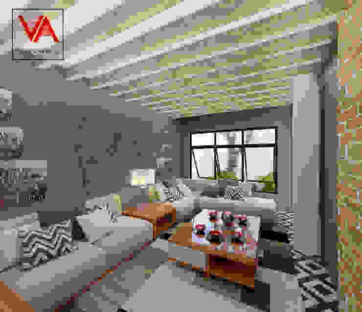 Sala: Salas de estilo  por Imagen + Diseño + Arquitectura,