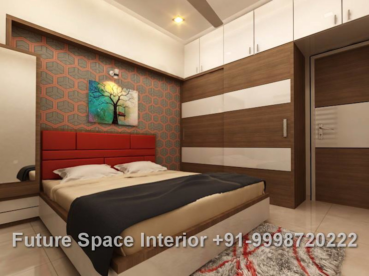 Residential Interiors Colonial style bedroom by Future Space Interior Colonial