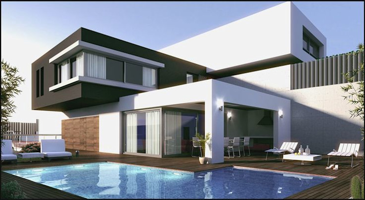 Casas de estilo  por ESAC,