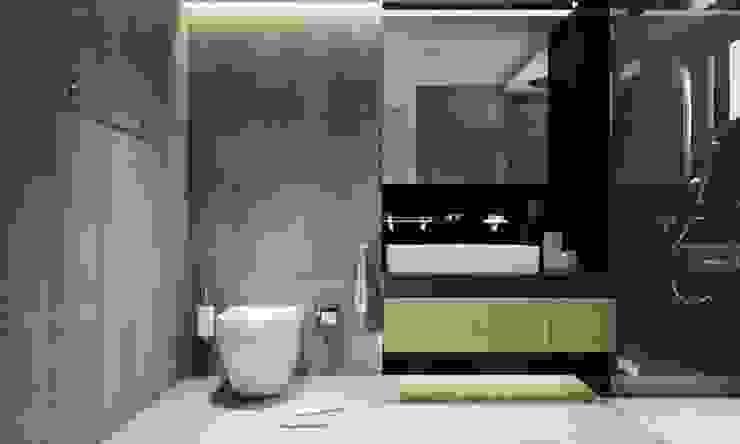 CÔNG TY THIẾT KẾ NHÀ ĐẸP SANG TRỌNG CEEB Modern bathroom