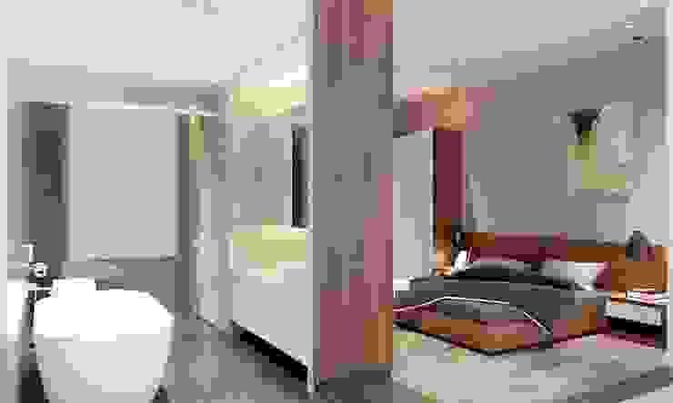 nội thất phòng ngủ hiện đại Phòng ngủ phong cách hiện đại bởi CÔNG TY THIẾT KẾ NHÀ ĐẸP SANG TRỌNG CEEB Hiện đại