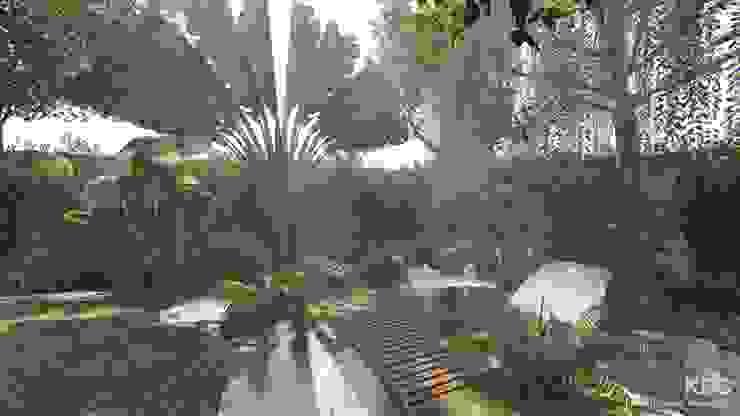 รับออกแบบและจัดสวนแนวป่าธรรมชาติ โดย คิดดี ดีไซน์ แอนด์ คอนสตรัคชั่น โมเดิร์น