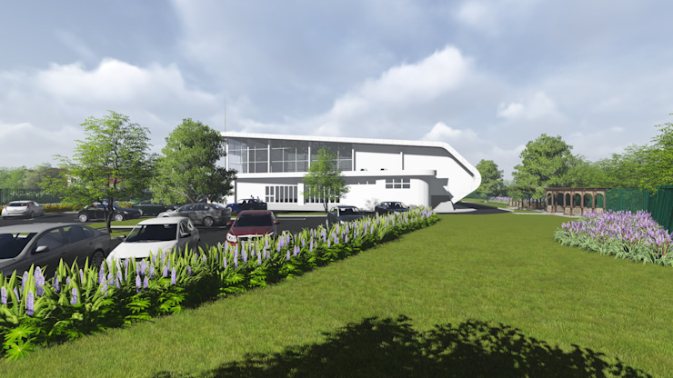 Church in Richards bay: modern  by A&L 3D Specialists, Modern
