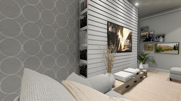 Lining Room desing: modern  by A&L 3D Specialists, Modern