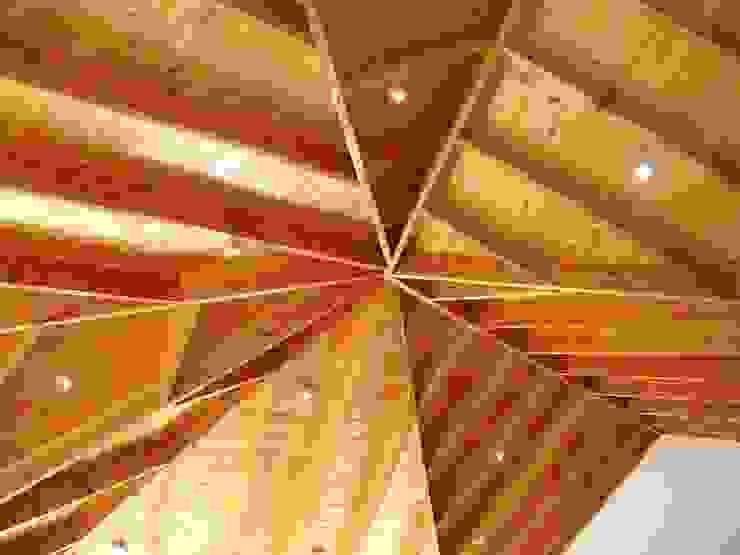 CUPULA CENTRAL Livings de estilo de ARKITEKTURA Rural Madera Acabado en madera