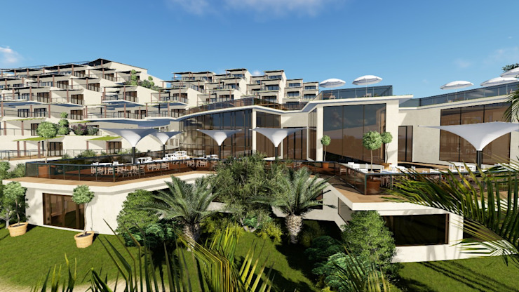 Hotel Kribi Camaroon Africa by A&L 3D Specialists