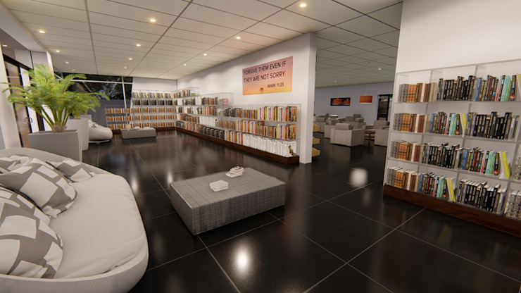 Upgrade Church Coffee Shop/Book Store Durban by A&L 3D Specialists