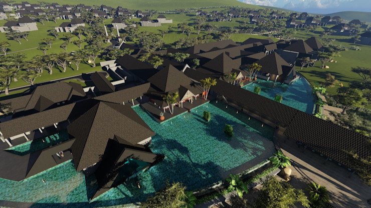 A&L 3D Specialists Rustic style hotels