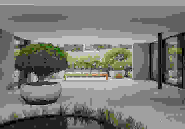 meier architekten zürich Balcones y terrazas de estilo moderno