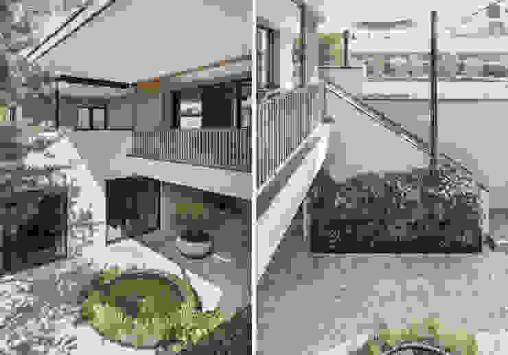 meier architekten zürich Modern style balcony, porch & terrace