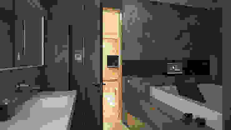 Salle de bain moderne par Art-In Moderne