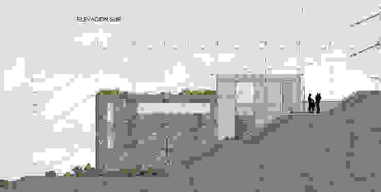 Elevación Sur de LEON CAMPINO ARQUITECTURA SPA Moderno