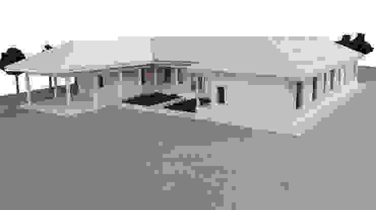 Vista acceso de LEON CAMPINO ARQUITECTURA SPA Rural