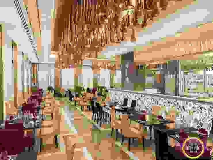 Ruang Makan Gaya Eklektik Oleh Luxury Antonovich Design Eklektik