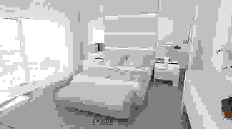 Cama iluminada Quartos modernos por Donna - Exclusividade e Design Moderno