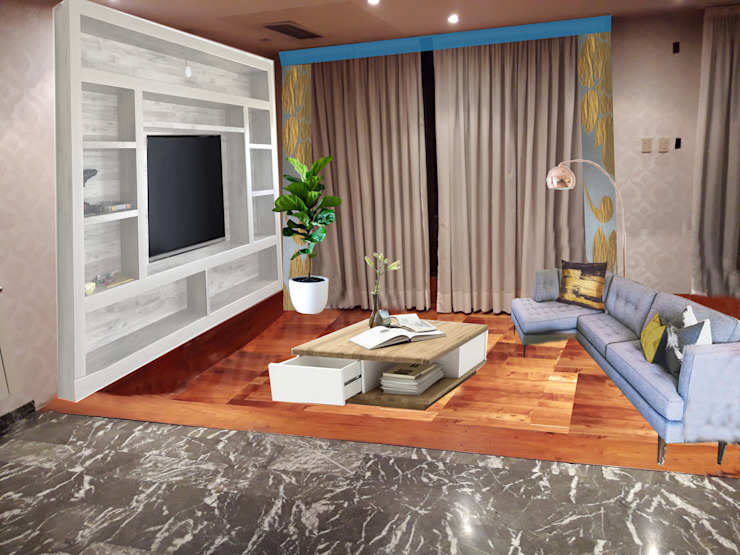 OOST / Sabrina Gillio Classic style living room