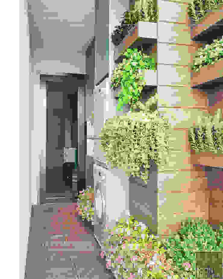Đẹp Khác Biệt với Thiết kế căn hộ Landmark 81 của ICON INTERIOR Vườn phong cách hiện đại bởi ICON INTERIOR Hiện đại